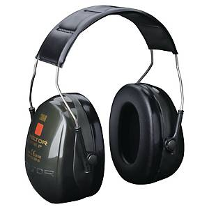 3M PELTOR OPTIME II EAR MUFF YELLOW/BLACK