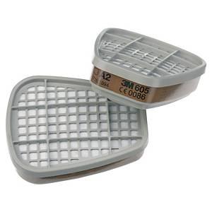 3M™ 6055 Partikelfilter für Vollmasken und Halbmasken, A2, 8 Stück