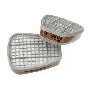 3M 6055 Organic Vapour Gas Filter A2 Box of 8