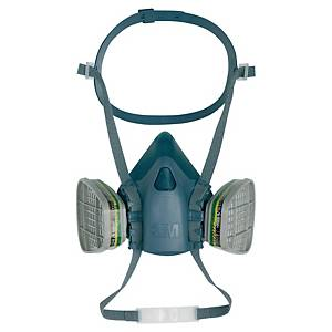 3M 7502-M reusable half face mask respirator