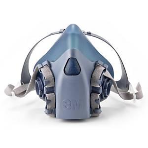 Masque réutilisable moitié du visage 3M™ 7502 caoutchouc de silicone, medium