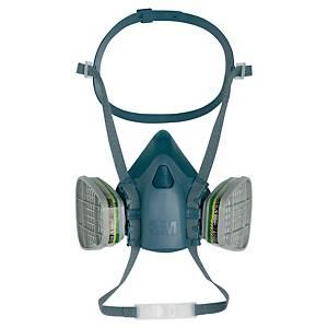 Halvmaske 3M 7502, åndedrettsmaske, str. M