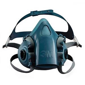Meia máscara reutilizável 3M 7502 - tamanho M