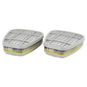 3M™ 6057 Filter für Vollmasken und Halbmasken, ABE1, 8 Stück