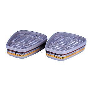 Kombifilter 3M 6057, Typ ABE1, Packung à 8Stk.
