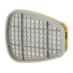 3M Gas and vapour filter ABE1  - pack of 8