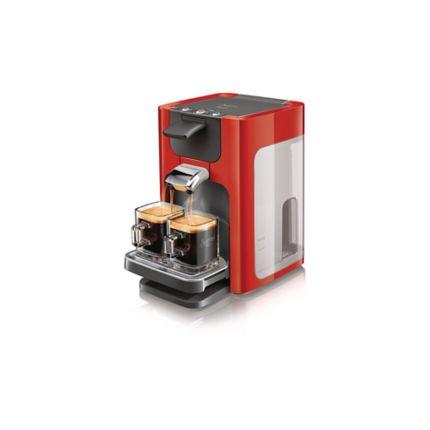 Senseo Quadrante Coffee Machine Red Hd786382
