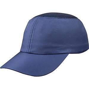 Casquette anti-chocs Deltaplus Coltan, plage de réglage 58-62cm, bleu