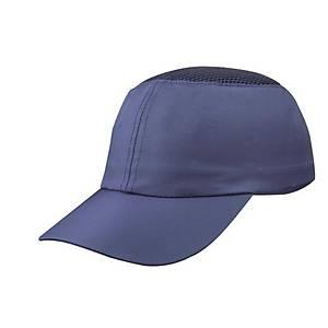 Gorra protectora no ventilada de poliamida Deltaplus Coltan - azul