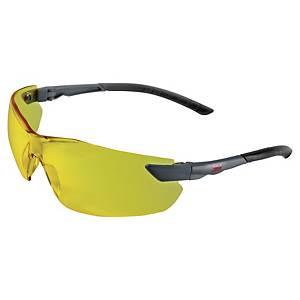 Okulary ochronne 3M 2822, soczewka żółta (amber), filtr UV 2-1,2