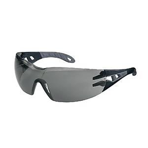 Schutzbrille uvex 9192.285 Pheos, Polycarbonat, grau