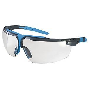 Occhiali di protezione Uvex I-3 lente trasparente - antracite/blu