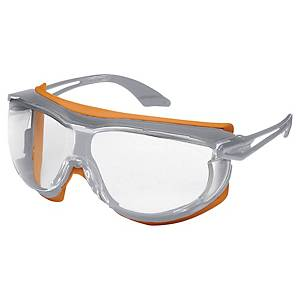 Uvex Skyguard over spectacles - clear lens