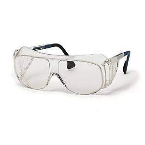 Uvex Super overzetbril, heldere lens