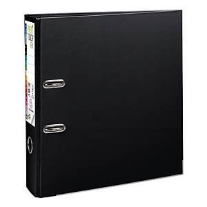 Exacompta Premium Touch lever arch file in PP 8 cm black