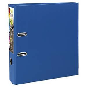 Exacompta Prem-Touch Polypropylene A4 Maxi Lever Arch File, 80mm Spine, Blue