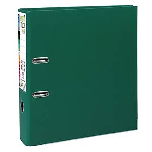 Exacompta Premium Touch lever arch file in PP 8 cm green