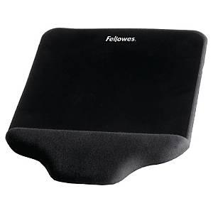 Musemåtte Fellowes, med håndledsstøtte, sort