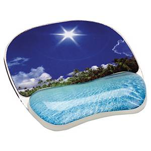FELLOWES MOUSE PAD GEL TROPICAL