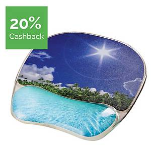 Fellowes Tropical mouse pad with gel