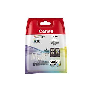 Canon PG-510/CL-511 Inkjet Cartridge Multipack - Black And Colour
