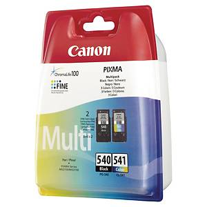 Canon PG-540/CL-541 inkjet cartridge black/color [4 x 8 ml]