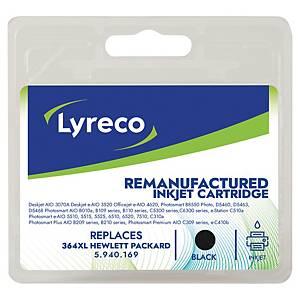 Tinteiro LYRECO preto alta capacidade 364XL compatível com OJ-4620/PS-5510