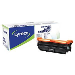 Lasertoner Lyreco HP CE400A kompatibel, 5 500 sidor, svart