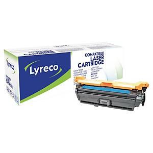 Toner Lyreco kompatibel mit HP CE401A, Reichweite: 6.000 Seiten, cyan