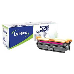 Toner Lyreco compatible avec HP CE403A, 6000pages, magenta