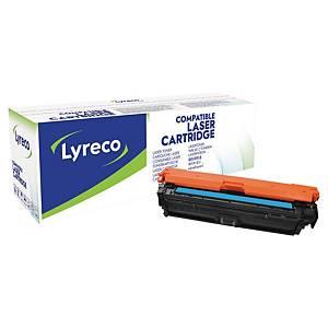 Lyreco HP CE271A 代用環保鐳射碳粉盒 藍色