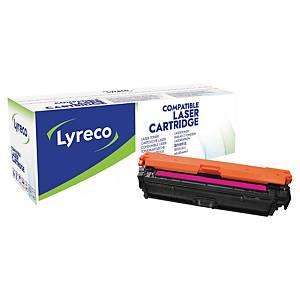 Lyreco HP CE273A 代用環保鐳射碳粉盒 紅色