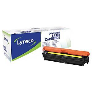 Lyreco HP CE272A 代用環保鐳射碳粉盒 黃色
