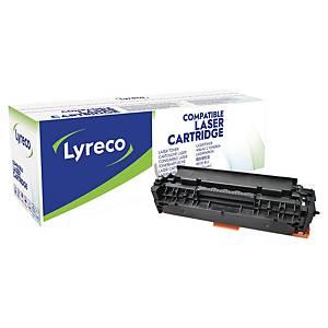 Toner Lyreco kompatibel mit HP CE410A, Reichweite: 2.200 Seiten, schwarz
