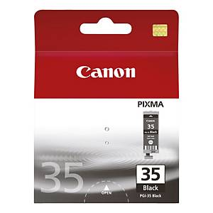 Canon PGI-35 inkt cartridge, zwart, pak van 2, 2 x 9,3 ml
