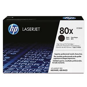 HP 80X CF280X laservärikasetti musta