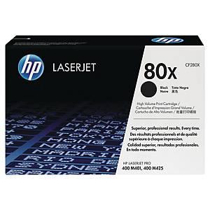Cartouche de toner HP 80X - CF280X - noire