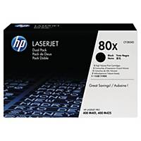 HP CF280XD laser cartridges black - pack of 2xCF280X [2x6.900 pages]