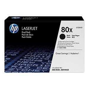 Toner HP 80X CF280XD czarny, dwupak