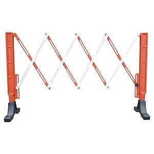 Viso Flexo barrier width 2 m x  height 1 m - orange/white