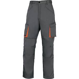 Pantalon de travail Deltaplus M2PAN, tailleM, 65% polyester 35% coton, grs