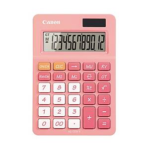 CANON AS-120 POCKET CALCULATOR 12 DIGITS PINK