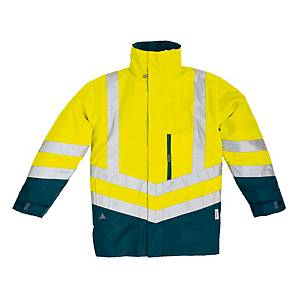 Warnschutzjacke Deltaplus Optimum2, Größe: 2XL, gelb