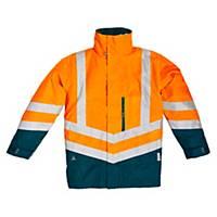 Warnschutzjacke Deltaplus Optimum, Größe: S, orange