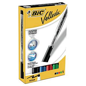 Bic® Velleda Liquid Ink pocket whiteboard marker, ronde punt, blauw, per stuk