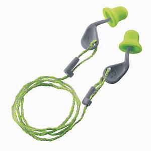 Gehörschutzpfropfen mit Kordel Uvex 2124, 26dB, lime