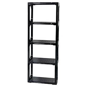 CEP OFFICE SHELVES ADJUSTABLE RESINE GRY