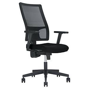 Nowy Styl Taktik szék, szinkronmechanikával, fekete