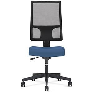 Bürostuhl Synchron Melik, Polyester, blau