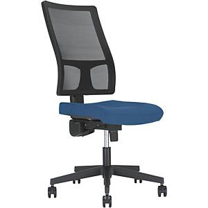 Bürostuhl Nowy Styl Taktik Synchron WBT30-OK3B, verstellbare Rückenlehne, blau
